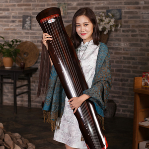 Image 2 - High Quality Guqin Fuxi type Old Paulownia 7 Strings Guqin Master Recommended For Beginners Professional Practice Chinese Zither