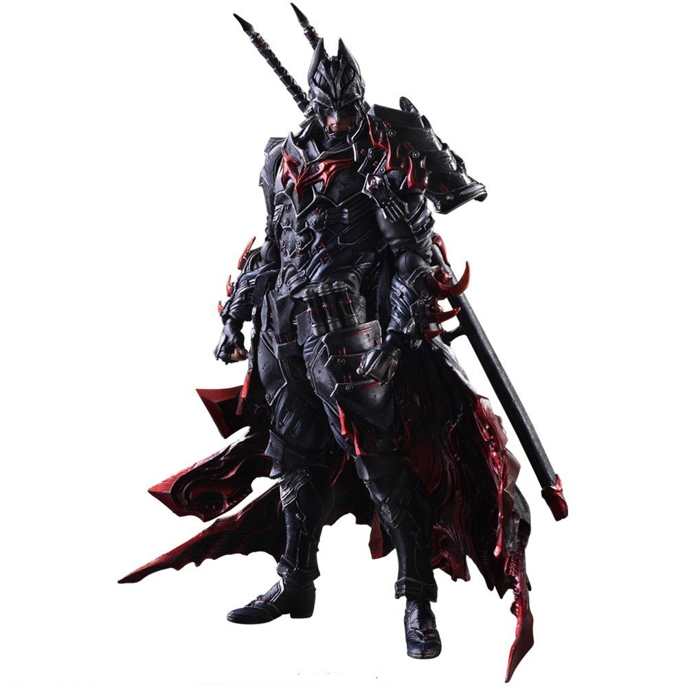 New Version  DC Comics  Super Hero Batman Timeless Bushido Square Enix Variant Play Arts Kai 27cm Action Figure neca dc comics batman arkham origins super hero 1 4 scale action figure
