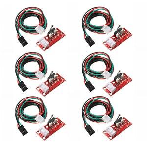 Механический переключатель торцевой остановки, 6 шт., кабель для 3D-принтера с ЧПУ