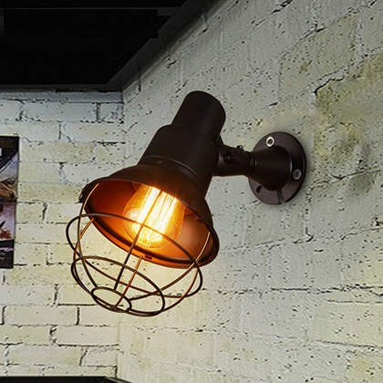 Loft Style Edison Wall Sconce Industrial Lamp Adjustable Angle Vintage Wall Light For Home Antique Indoor Lighting Lampara american loft style glass edison wall sconce industrial vintage wall light for bedside antique hemp rope lamp lampara pared