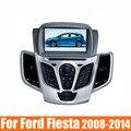 """7 """"DVD del coche para Ford Fiesta 2008 2009 2010 2012 2013 2014 2015 DVD de navegación GPS estéreo con Radio bluetooth libera el mapa de dvd jugador"""