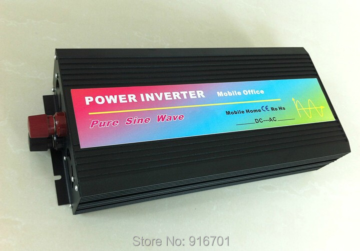 Peak Power 5000W Solar Inverter 2500W Pure Sine Wave Car Power Inverter DC 12V to AC 220V Car Auto Power Converter 3 5kw 220v car inverter 3500w3500watt pure sine wave power inverter home car car power inverter dc 12v to ac 220v 3500w