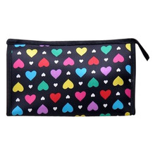 Xiniu Brand Cosmetic Bag High Quality Multi Color Pattern 2016 Cute Multi-Function Travel Makeup Case Beauty Tools