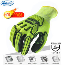 NMSafety Anti Cut Gloves Level 5 Cut Knife Protection Gloves Cutting Proof Glove Cut Resistant Safety Work Gloves nmsafety anti vibration oil safety glove shock absorbing mechanics impact resistant work glove