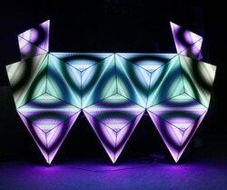 2019 DJ Contatore RGX Attraente Display A LED Speciale-a forma di Schermo di Visualizzazione del LED DJ Cabine
