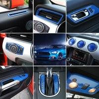 Только для левого привода! Для Ford Mustang 2015 2016 2017 аксессуары для интерьера весь комплект украшения крышка отделка 35 шт. стайлинга автомобилей