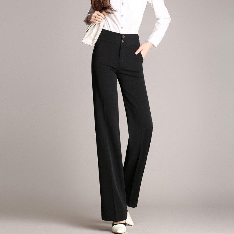 Sólido m Color Verano 2017 De Mujeres Picture Traje Longitud 4xl Anchos xl 3xl Ocasional Completa Same Nuevo Pantalón Negro Pantalones l S As Diseño 2xl AwOqawF