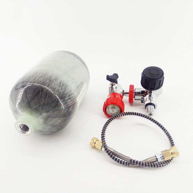 Image 4 - AC520211 300BAR композитного углеродного волокна/Пейнтбол/гПа/подводное/оборудование для дайвинга/цилиндров/майка 2L для насос PCP воздуха пистолет/винтовка/кондер-in Пейнтбольные аксессуары from Спорт и развлечения