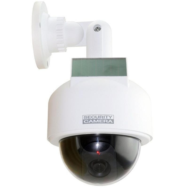 2017 Solor Power Fake Camera  Monitor Simulation Wireless Surveillance Camera Solar Energy Of High-Speed Ball Camera