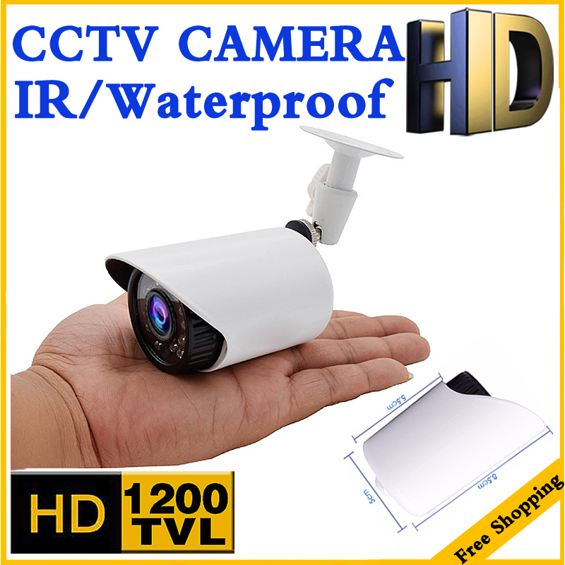3.28BigSale Small Mini Metal 1200TVL CCTV Security Surveillance HD Camera IRCUT infrared Metal Waterproof IP66 Color home Viideo new micro cone 3 7mm lens hd 1 4cmos 1200tvl small color analog video cctv security mini camera surveillance metal have bracket