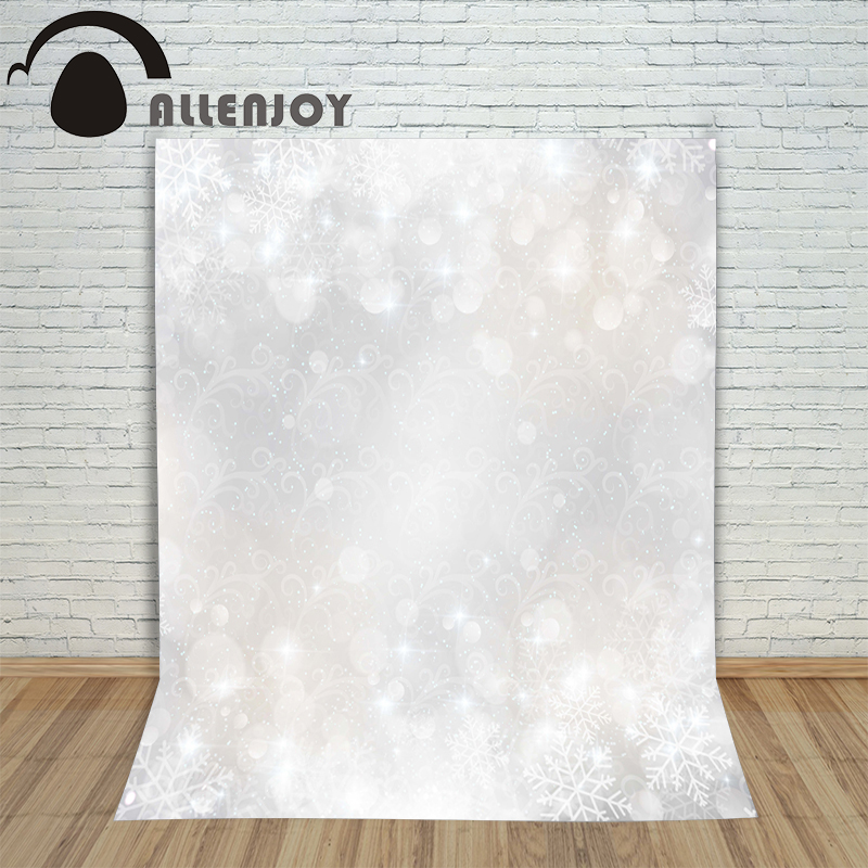 Allenjoy photography backdrops light snow winter xmas kids vinyl Digital Printing Customize photo props christmas backgrounds allenjoy photography backdrops floor mosaic school blackboard kids vinyl photocall photographic studio computer printing lovely