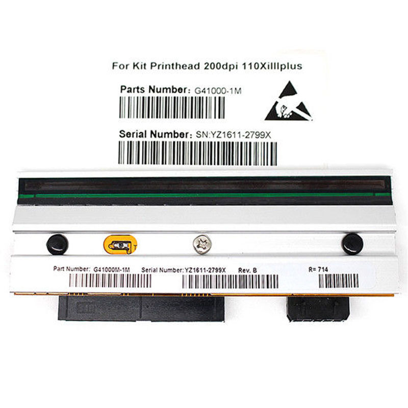 New Printhead for Zebra S4M Barcode Coated Label Printer 200dpi P//N G41400M