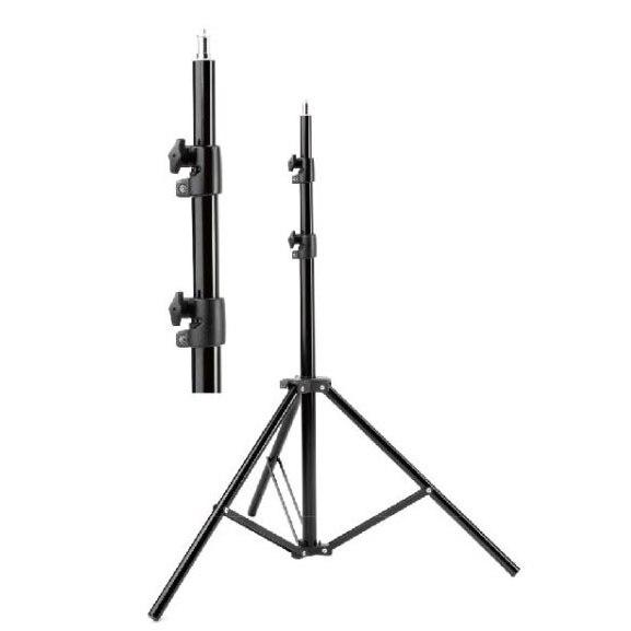 Lamp holder jb 220 portable aluminum light stand carrying