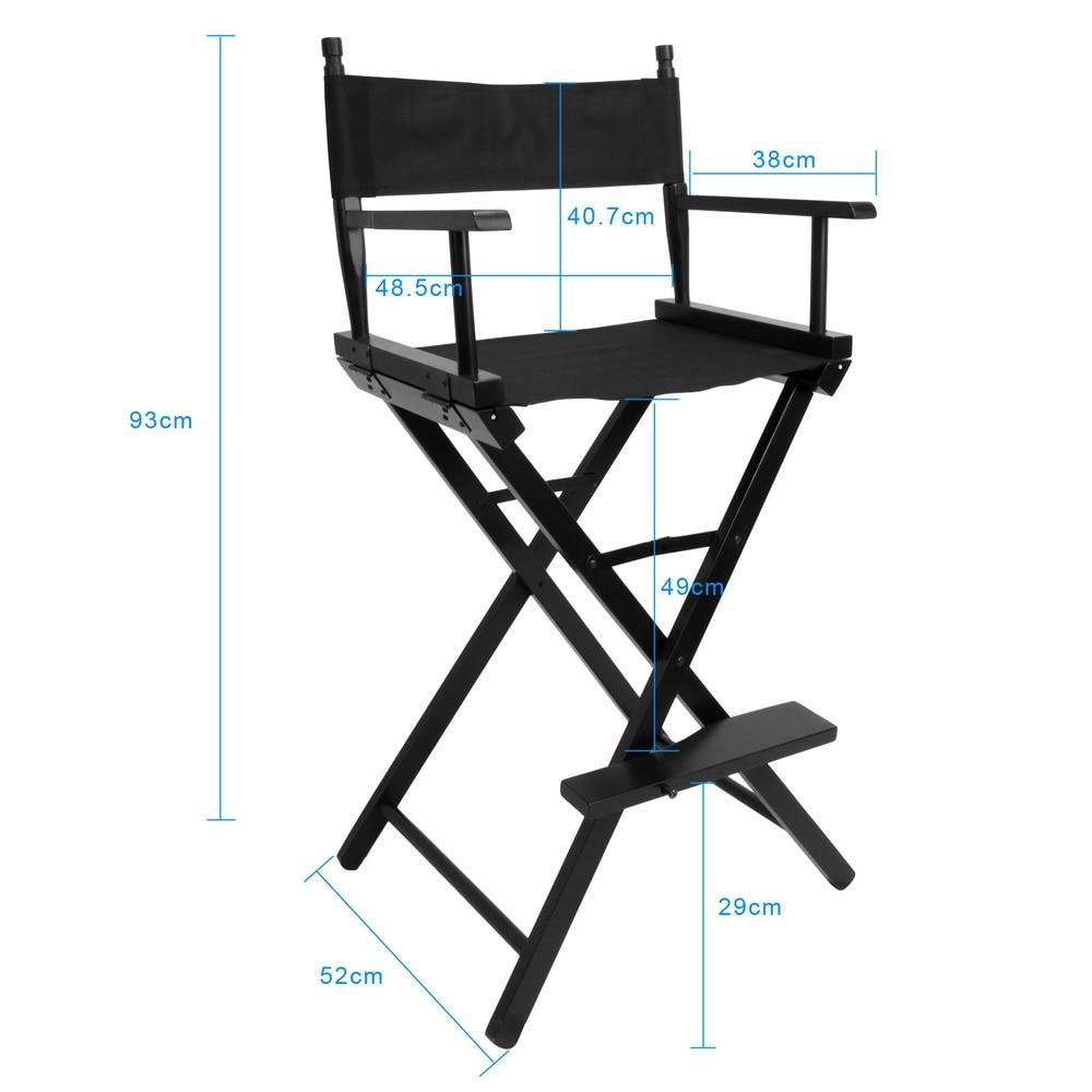 Chaise de directeur d'artiste pliable mobilier d'extérieur accessoires de photographie légers chaise de maquillage de directeur pliante Portable-in Accessoires pour studio photo from Electronique    1