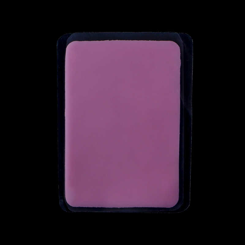 Reuseable Silicone Makeup Eye Lashes Pads Pallet Stand Make Loose Eyelashes Extension Rectangle Cosmetic Tool Transparent/Pink