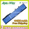 Apexway 4400 mah da bateria do portátil para acer btp-amj1 btp-anj1 btp-aoj1 btp-apj1 btp-aqj1 ms2180 tm07b41 btp-arj1garda31 garda32