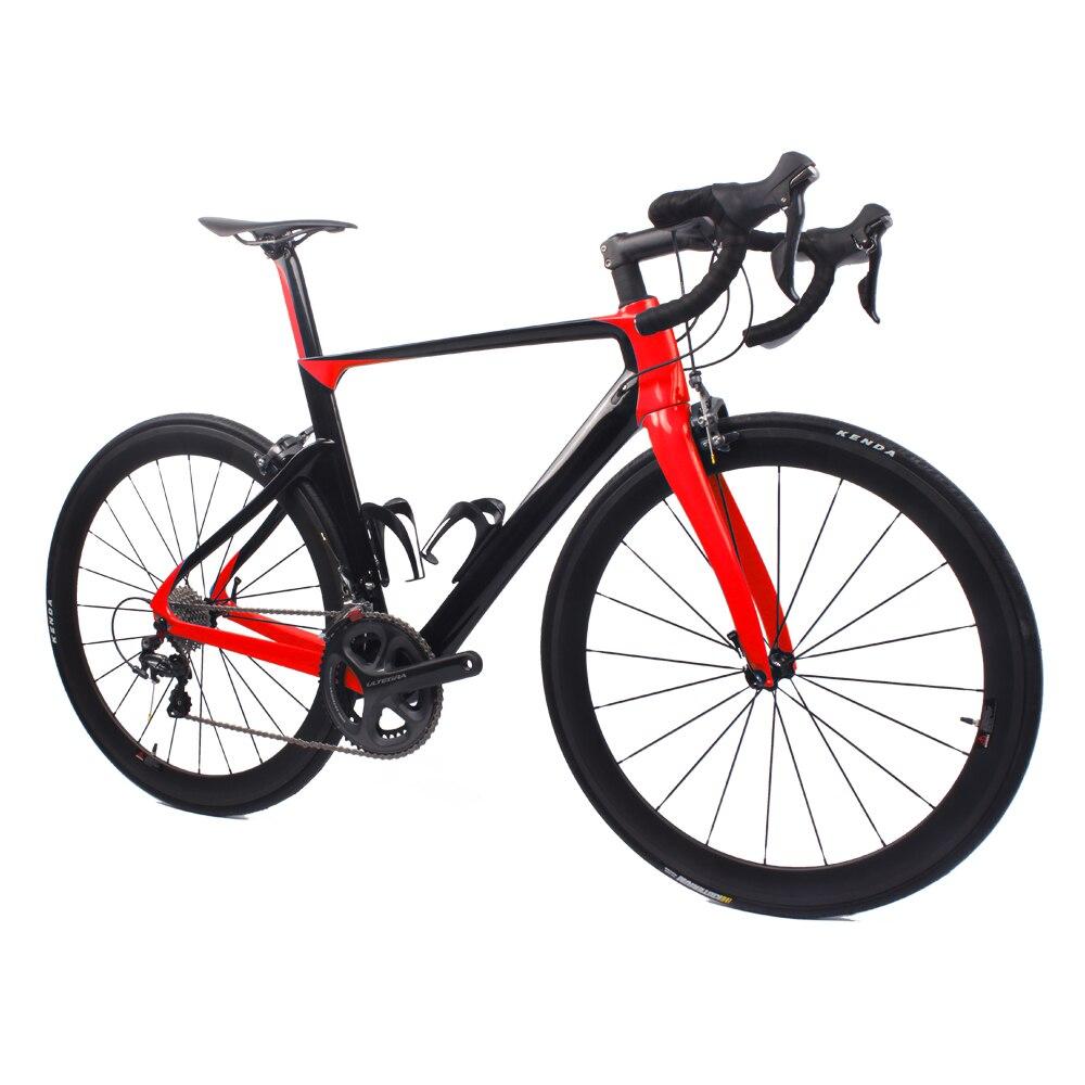 Hot Sale 700c Lightweight Complete Carbon Road Bike 100