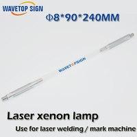 Laser Xenon Lamp 8 90 240 Mm Use For Laser Welding Machine Laser Mark Machine Other