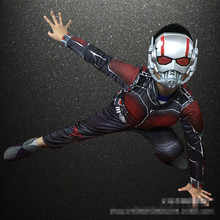 2019 New Child Boy Muscle Batman Ant Man Comic Superhero Movie Character Cosplay Fancy Dress Halloween Carnival Party Costumes