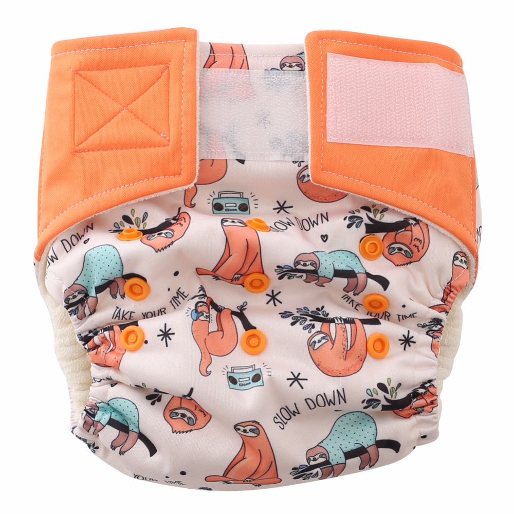 Hey Baby,Slow Down!Take Your Time Baby Nappies Cloth Diaper (Newborn To 30lbs.)