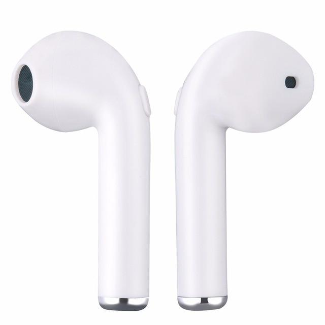 I7 i7s in-ear Bluetooth Earphone TWS Binau Wireless Earbuds Headset With MicPhone for iPhone Xiaomi Samsung Huawei LG