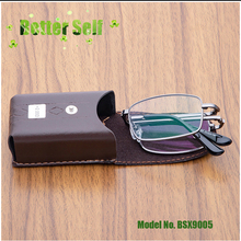 Fashion Folding Reading Glasses Middle-Aged Portable Mini Eyeglasses BSX9005 Light Spectacles Finished Resin Lens