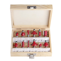 12Pcs 8mm Router Bit Set Shank Tungsten Carbide Rotary Tool Wood Woodworking Professional Tools
