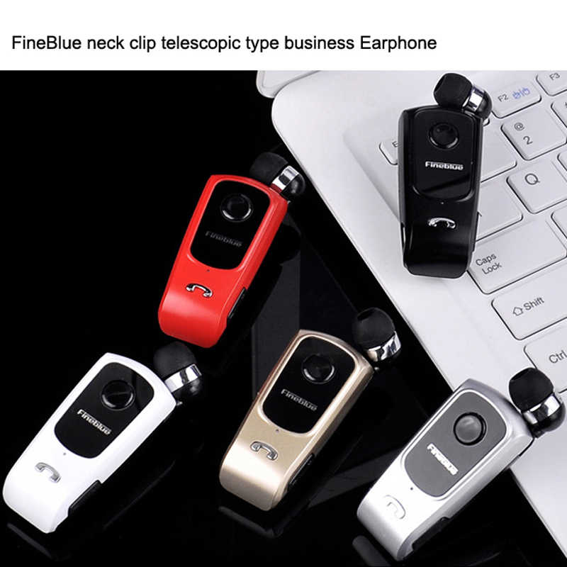 03101a4b887 ... FINEBLUE F920 Earphones Wireless Bluetooth 4.0 Earphones with Calls  Vibration Remind Wear Clip Handsfree for Driving ...