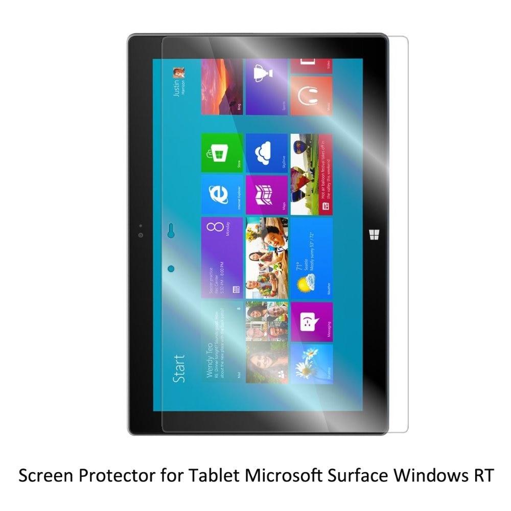 Clear Lcd Pet Film Anti-scratch/anti-blase/touch Responsive Displayschutzfolie Für Tablet Microsoft Oberfläche Windows Rt Tablet-zubehör