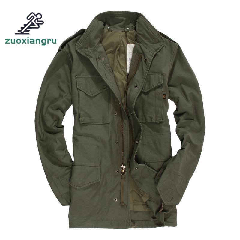 Veste de randonnée veste d'extérieur loisirs armée Fans manteau automne hiver américain classique hommes costume veste tactique de haute qualité
