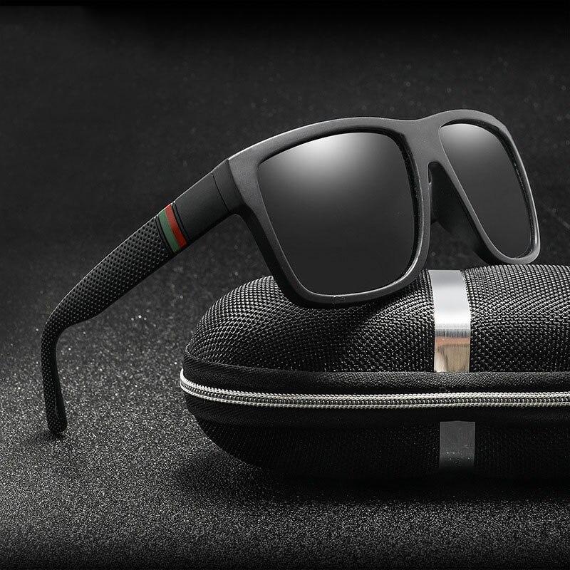 Classic Men Polarized Sunglasses Brand Design Men Driving Sun Glasses Square Glasses For Male UV400(UV400) Eyewear Oculos De Sol