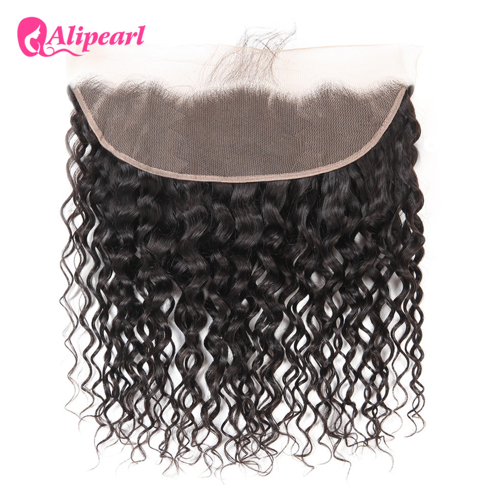 3/4 Bundles With Closure Hair Extensions & Wigs Careful Alipearl Kinky Straight Hair Bundles With Frontal Closure Brazilian Yaki Human Hair Bundles With Frontal 13x4 Freepart Remy Hair