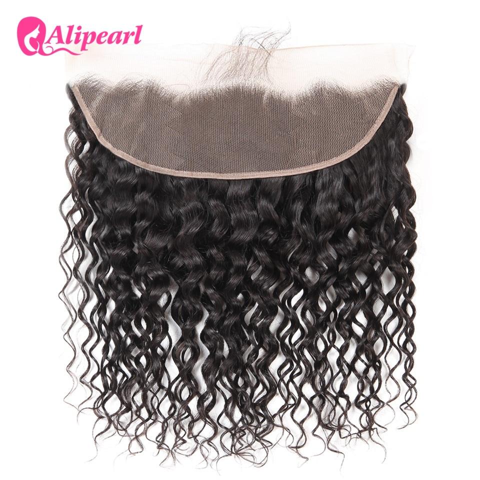 Human Hair Weaves Careful Alipearl Kinky Straight Hair Bundles With Frontal Closure Brazilian Yaki Human Hair Bundles With Frontal 13x4 Freepart Remy Hair