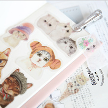 40 pcs/lot Cartoon refreshing sticker DIY diary album decoration stickers scrapbooking planner label Scrapbook