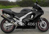 Sıcak Satış, Ucuz 94 95 96 ZX-6R 97 body kit kawasaki Ninja ZX6R Kaporta 1994 1995 1996 1997 ZX 6R Siyah Motosiklet Marangozluğu