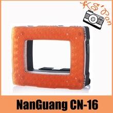 NanGuang CN-16 LED Video Lamp Light for Flash Speedlite Camera Video Camcorder 6.2W 710LM with Dimmer 5400K/ 3200K