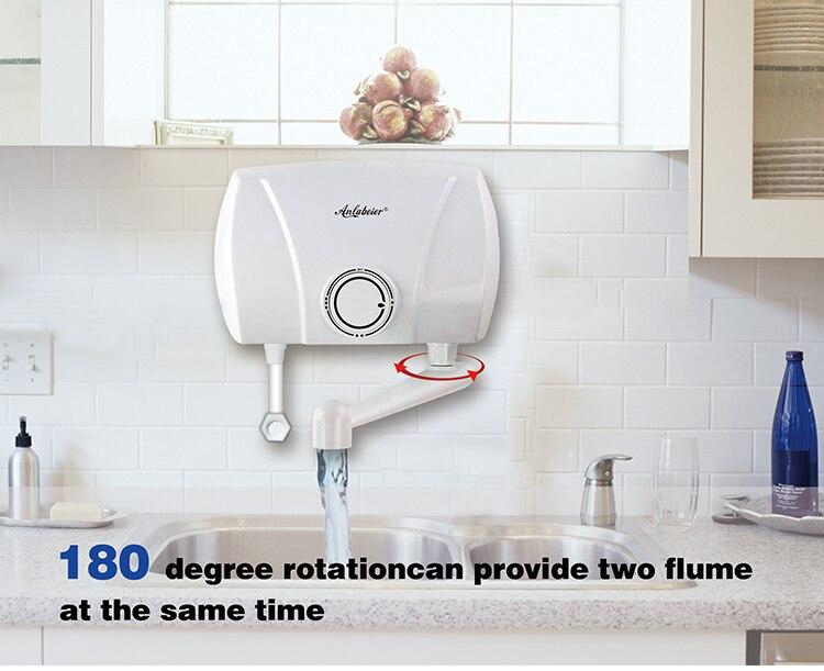Elektrische Warmwasserbereiter Günstige 3000 W Einsparung Energie Hand Waschen Tankless Instant Elektrische Wasser Heizung Für Küche 100% Original Warmwasserbereiter