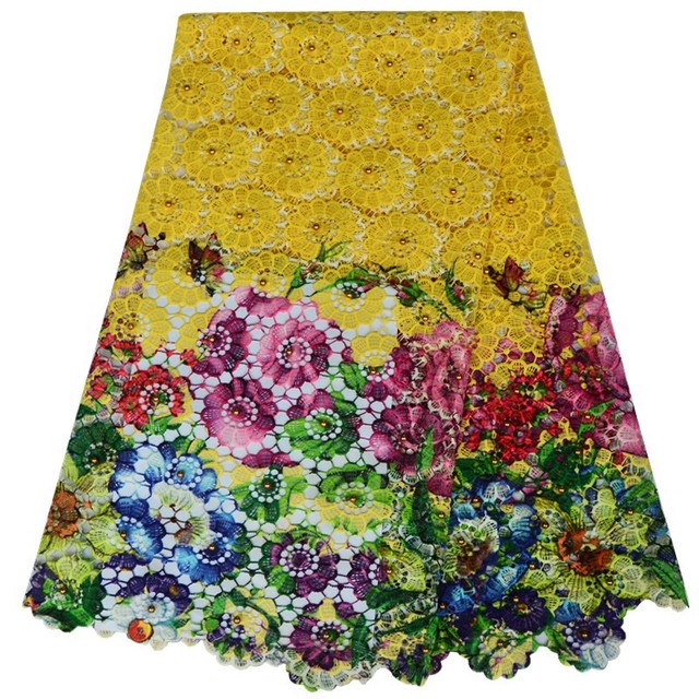 Free Shipping Embroidery Designs Polyester High Quality African