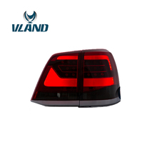 Free Shipping for car tail lamp for Toyota Land Cruiser LED taillight 2008-2015 Landcruiser FJ200 tail light New design free shipping for vland led rear light for proton perdana taillight 1999