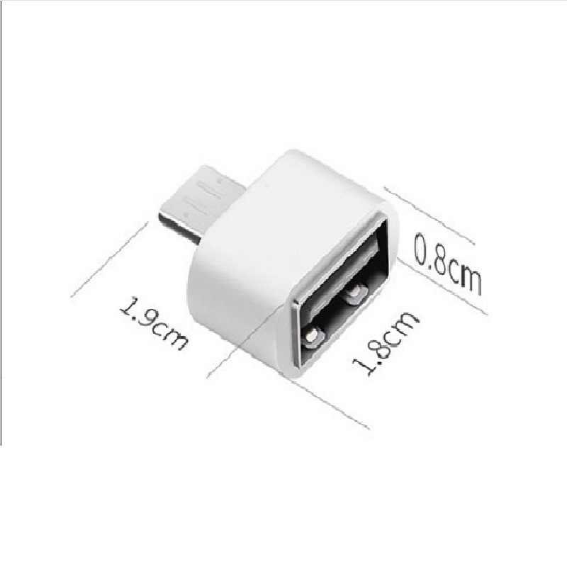 Micro USB OTG Adattatore Maschio a USB 2.0 Micro Adattatore Converter per Samsung Xiaomi lg Huawei Android Telefoni cellulari e Smartphone