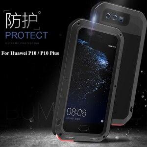 Image 3 - Love Mei Ốp Lưng Kim Loại Dành Cho Huawei P10 P10 Plus Chống Sốc Điện Thoại Dành Cho Huawei P10 Plus Chắc Chắc Toàn Thân Chống  Mùa Thu Armor