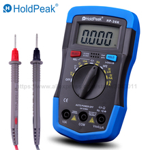 купить HoldPeak HP-36K DC/AC Mini Digital Multimeter 3999 Display Portable Resistance Capacitor Frequency Meter Measuring Tool дешево