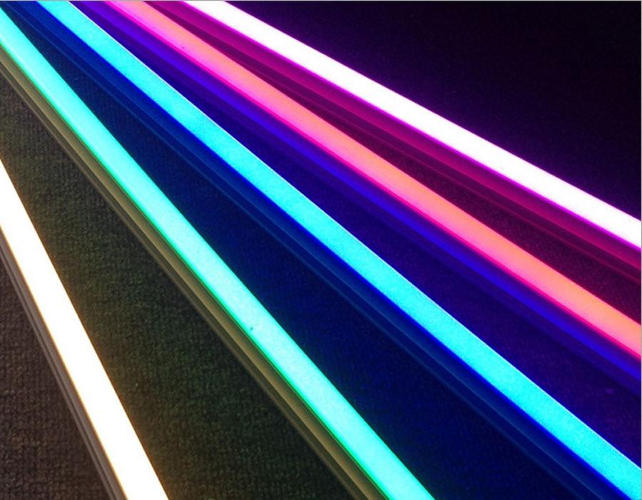 2835SMD T5/T8 integrated led color tube ,0.3m ,0.6m led Red ,Green ,Blue,Pink,Purple tube for fresh food AC100-265V mukhzeer mohamad shahimin and kang nan khor integrated waveguide for biosensor application