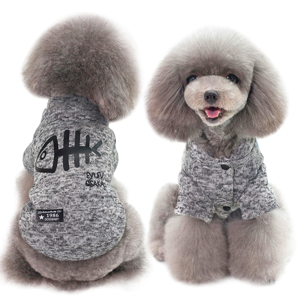 Warm Dog Jacket Made with Soft Polyester Material Suitable for Chihuahua/Yorkie/Poodles 3