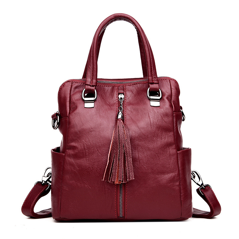 Women Leather Handbags Messenger Bags Designer Crossbody Bag Women Tote Shoulder Bag Multifunction Top-handle Bag Bolsa Feminina kzni real leather tote bag high quality women leather handbags top handle bags purses and handbags bolsa feminina pochette 9057
