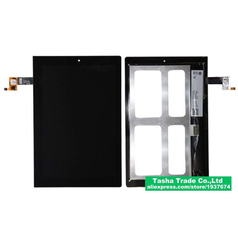 ФОТО For Lenovo Yoga Tablet 2 1051 1051F Touch Screen Panel Digitizer Glass LCD Display Assembly Replacement
