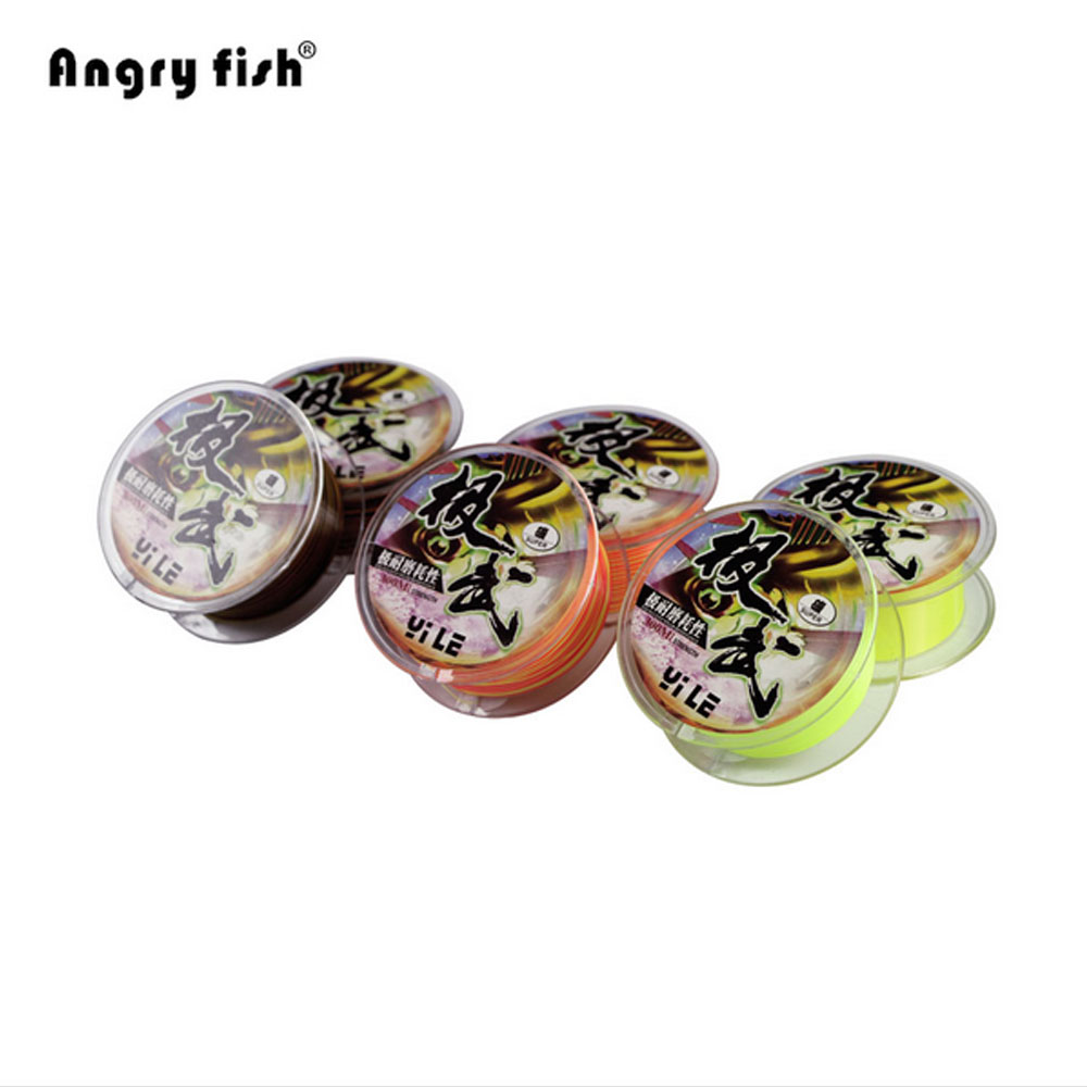 Excellent Wear Resistance Rock Fishing 300m Size Available Super Fishing Line