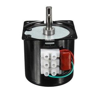 Image 3 - 60 KTYZ 220 V 14 W แม่เหล็กถาวรไฟฟ้าซิงโครนัสมอเตอร์เกียร์ 50Hz 15r/min ขายร้อน