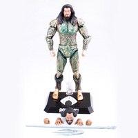 DC Legends Justice League Action Figure Yatlanti Aquaman Figurats PVC Model Toys
