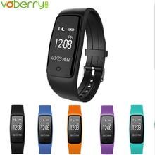 Voberry S1 Smart Band сердечного ритма Мониторы браслет Фитнес Flex Браслет для Android IOS PK xio Mi band 2 34